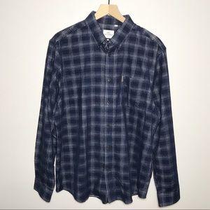 Ben Sherman Original Corduroy Plaid Button Shirt